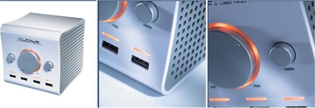 Boynq Cubite Speaker USB Hub
