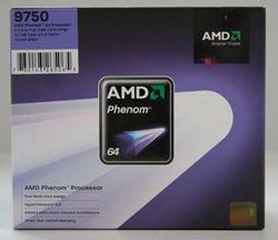 AMD Phenom X4 9750 4x2400Mhz 2048kB 125W AM2+ Box