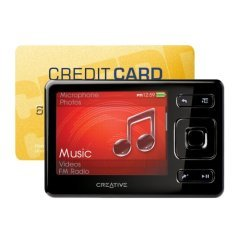Creative Zen Tragbarer MP3-Player 32 GB schwarz
