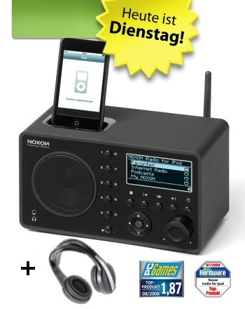 NOXON iRadio for iPod Bundle inkl