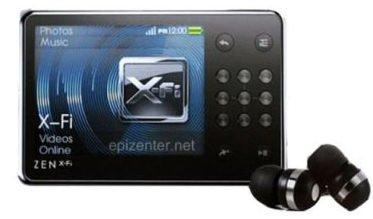 Creative Zen X-Fi MP3-Player mit Wireless LAN 16 GB schwarz