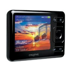 Creative Zen Tragbarer MP3-Player 16 GB schwarz