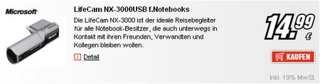 LifeCam NX-3000USB f