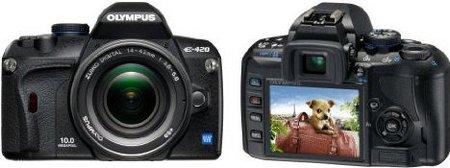 Olympus E-420 SLR-Digitalkamera (10 Megapixel, LifeView) Kit inkl
