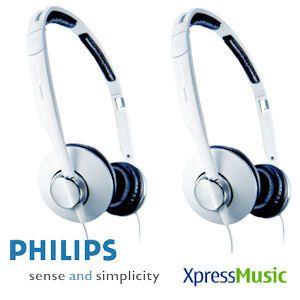 Philips SHH9501 Doppelpack XpressMusic Bügel-Kopfhörer