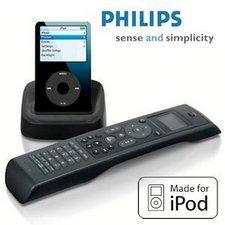 Philips SJM3151 10 Universalfernbedienung mit iPod-Dockingstation
