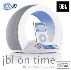 JBL On Time Lautsprechersystem mit iPod-Dockingstation