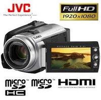 JVC GZ-HD5EX Full HD 60GB Festplatten-Camcorder
