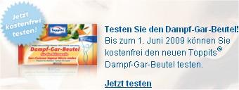 gratisToppits Dampf-Gar-Beutel