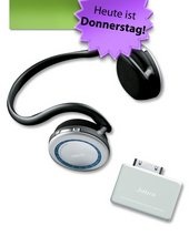 Jabra BT620s Bluetooth-Headset mit iPod-Adapter A-125s