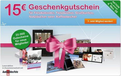 phozobox 15 € Gutcshein