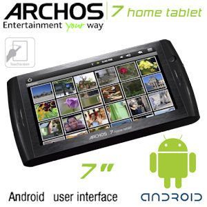 Archos 7 Home Tablet 8GB