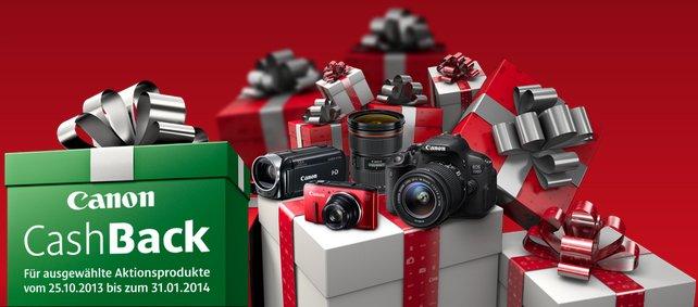 Canon CashBack Aktion 2013
