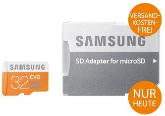 Saturn Micro Sd Karte.32gb Speicherkarte Samsung Microsdhc Evo Sd Adapter Für 8
