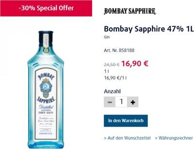 bombay sapphire 47 1l