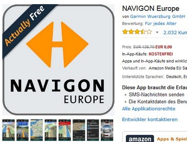 navigon europe app f r android gratis. Black Bedroom Furniture Sets. Home Design Ideas