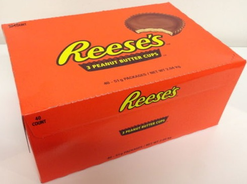 reese`s peanut butter cups