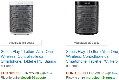 Sonos Play 1 Angebot